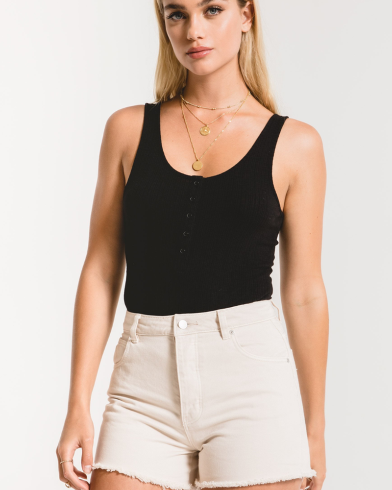 Z Supply Z Supply Rib Tank Bodysuit