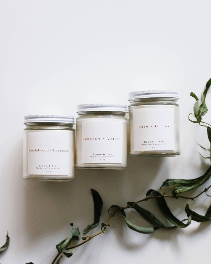 Brand & Iron Brand & Iron Rose & Citrus Candle