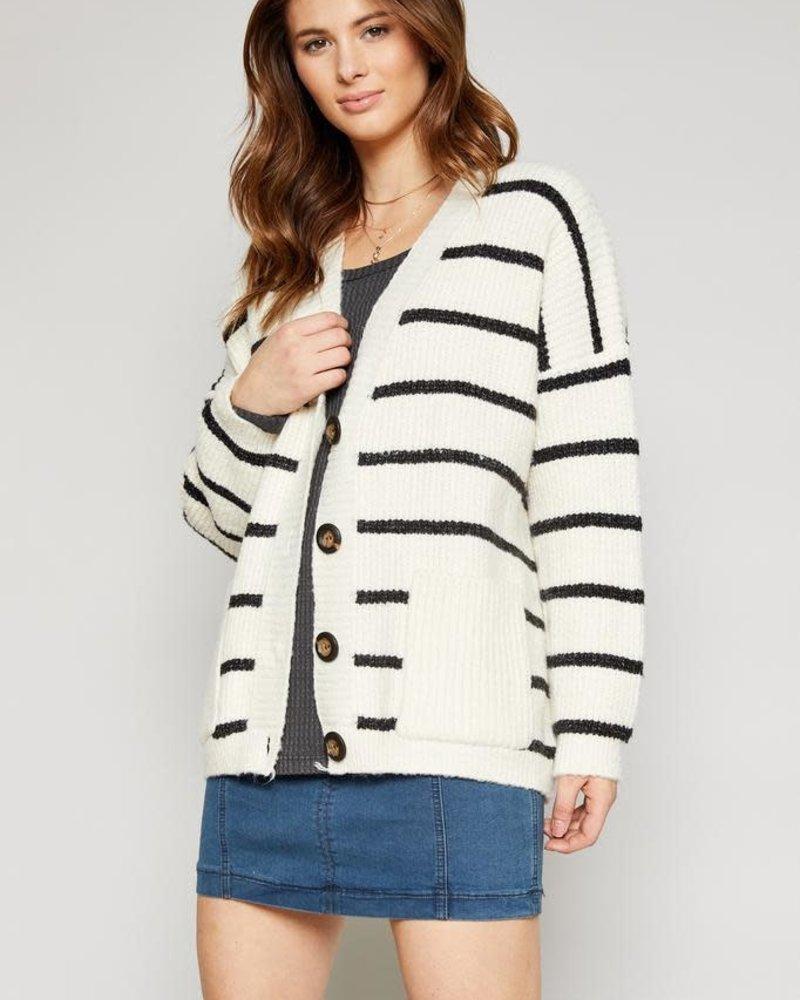 Sadie & Sage Thames Stripe Cardigan