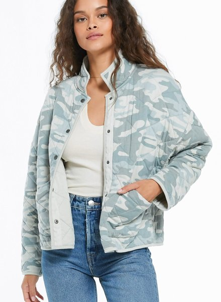 Z Supply Z Supply Maya Camo Quilted Jacket