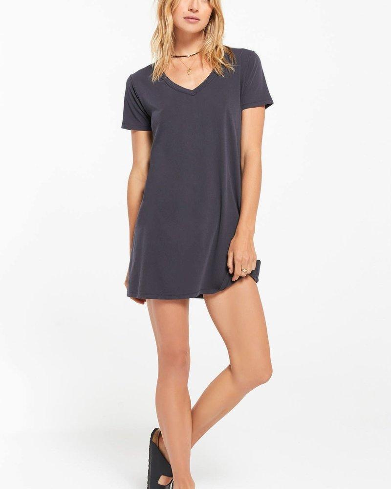 Z Supply Z Supply Cotton T-Shirt Dress