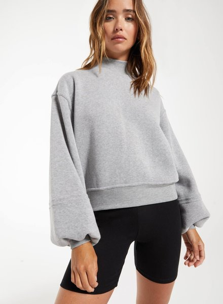 Z Supply Z Supply Skylar Mock Neck Pullover