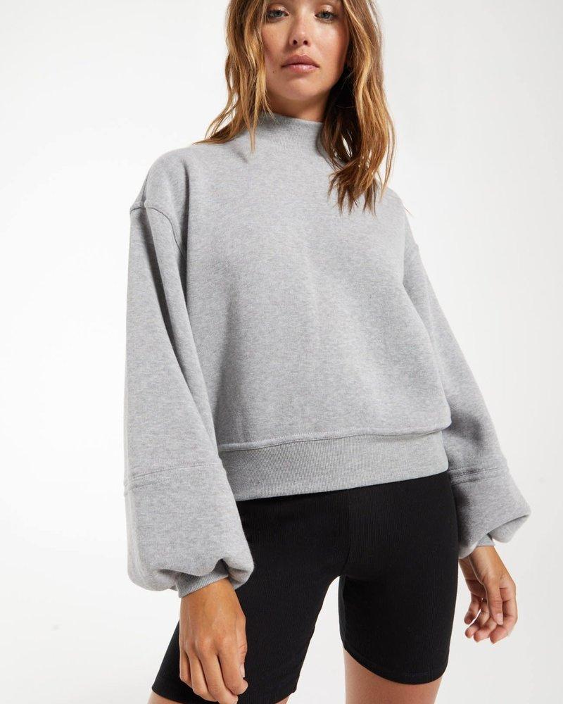 Z Supply Z Supply Skylar Mock Neck Pullover
