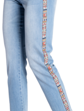 Carreli  Angela High Rise Side Detail Jean