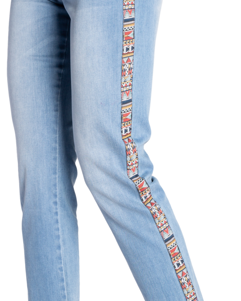 Carreli Carreli  Angela High Rise Side Detail Jean