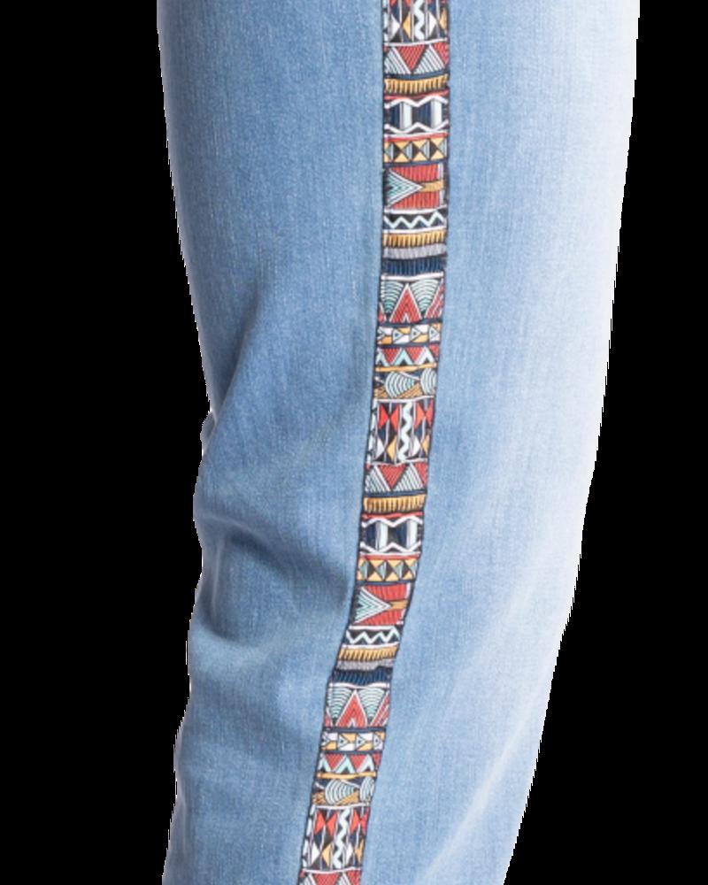 Carreli  Angela High Rise Side Detail Jean