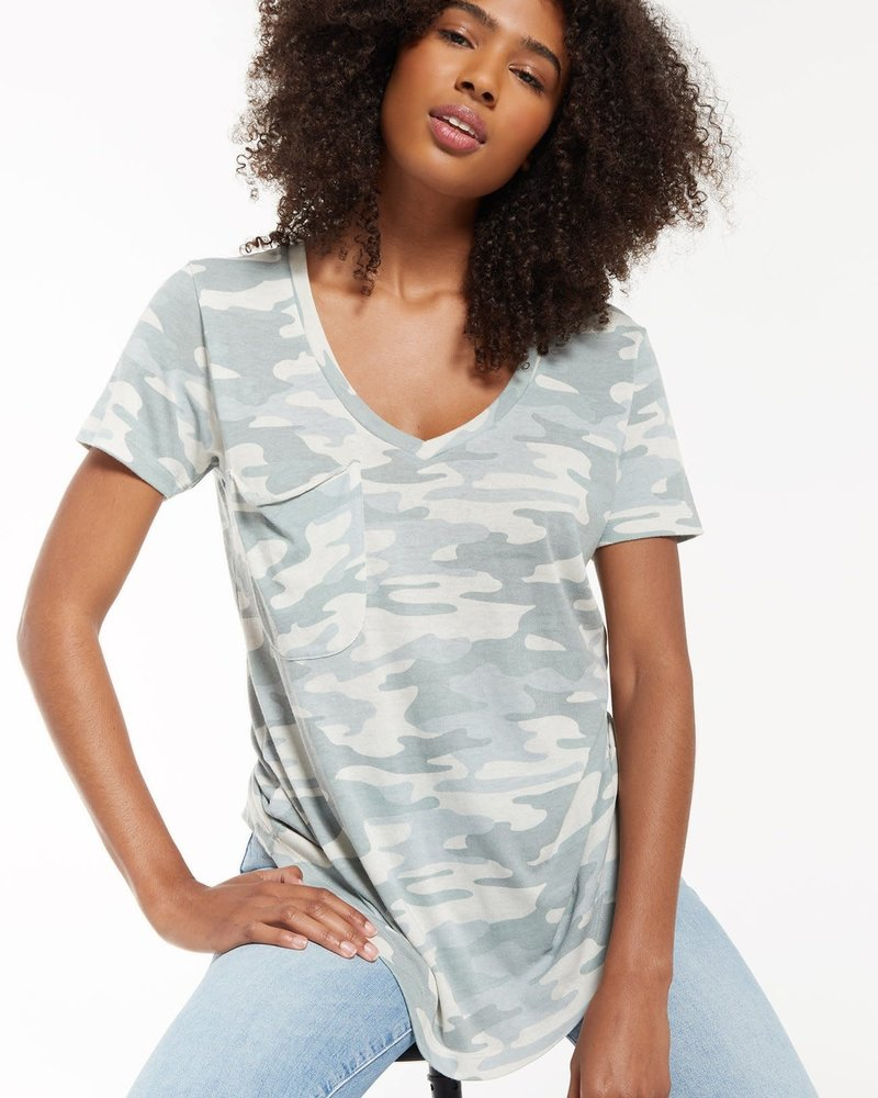 Z Supply Z Supply Camo Pocket Tee