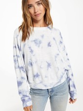 Z Supply Z Supply Claire Cloud Tie Dye Top
