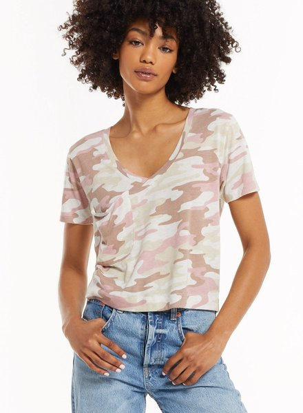 Z Supply Z Supply Camo Classic Skimmer Tee