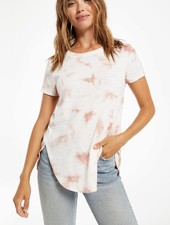 Z Supply Z Supply Tove Cloud Tie Dye Rib Tee