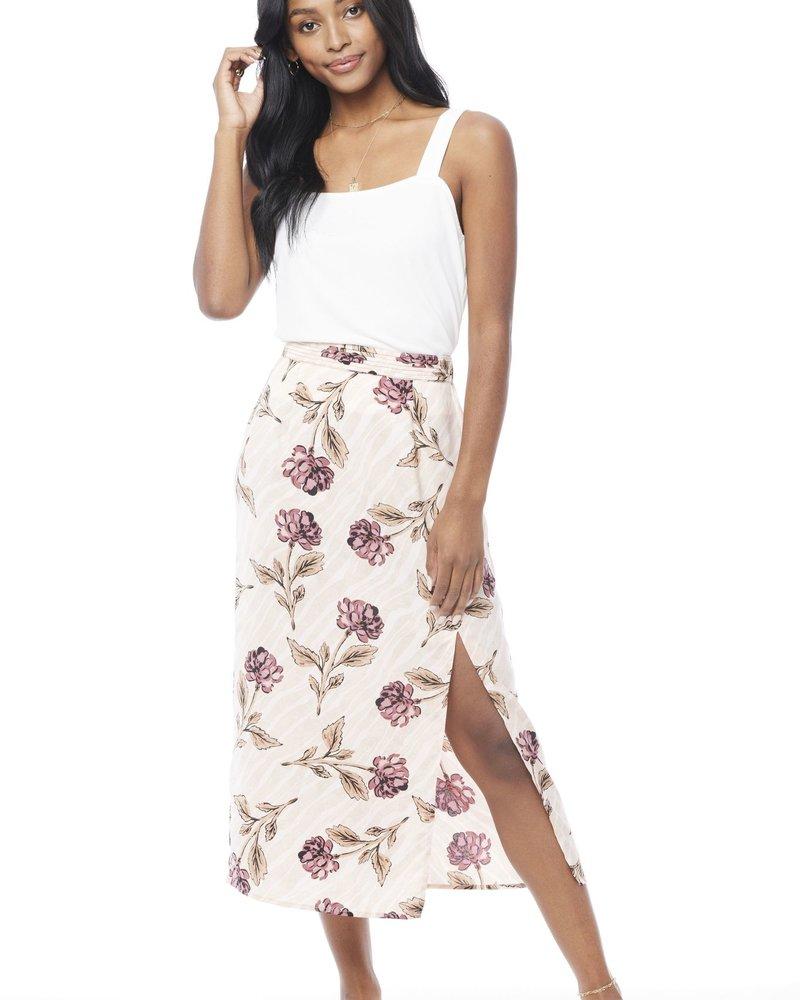 Saltwater Luxe Saltwater Luxe Maeve Slim Midi Skirt