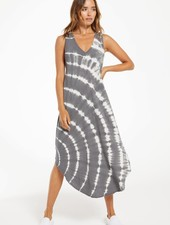 Z Supply Z Supply Reverie Spiral Tie-Dye Dress