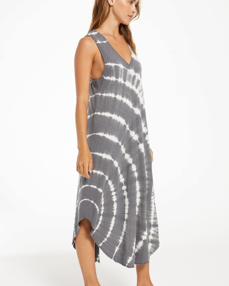 Z Supply Z Supply Reverie Spiral Tie-Dye Dress