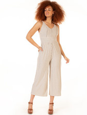 Dex Dex Panelled Wide Leg Jumpsuit