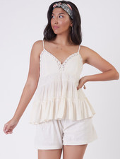 Dex Dex Lace Trim Camisole
