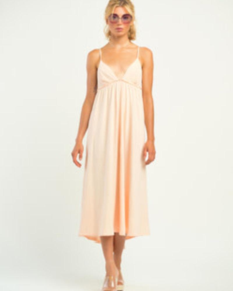 Dex Dex Textured Knit Maxi Dress
