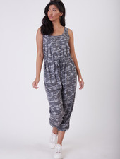 Dex Dex Printed Jumpsuit