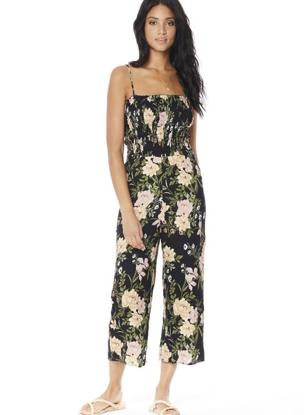 Saltwater Luxe Saltwater Luxe Agusta Smocked Jumpsuit