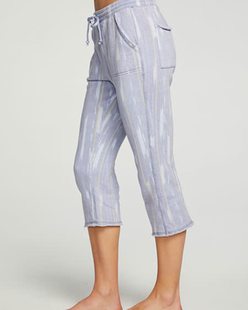 Chaser Chaser Cropped Relaxed Raw Edge Jogger