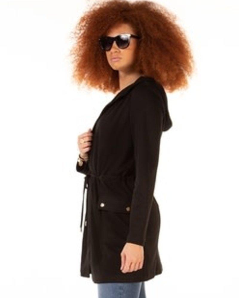 Black Tape Black Tape Hooded Jacket
