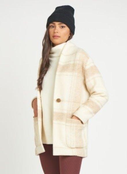 Dex Dex Shawl Collar Cocoon Jacket