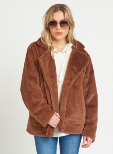 Dex Dex Faux Fur Jacket
