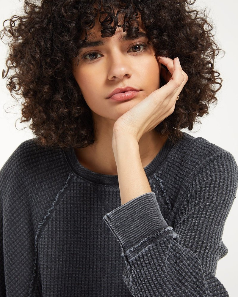 Z Supply Z Supply Claire Waffle Top