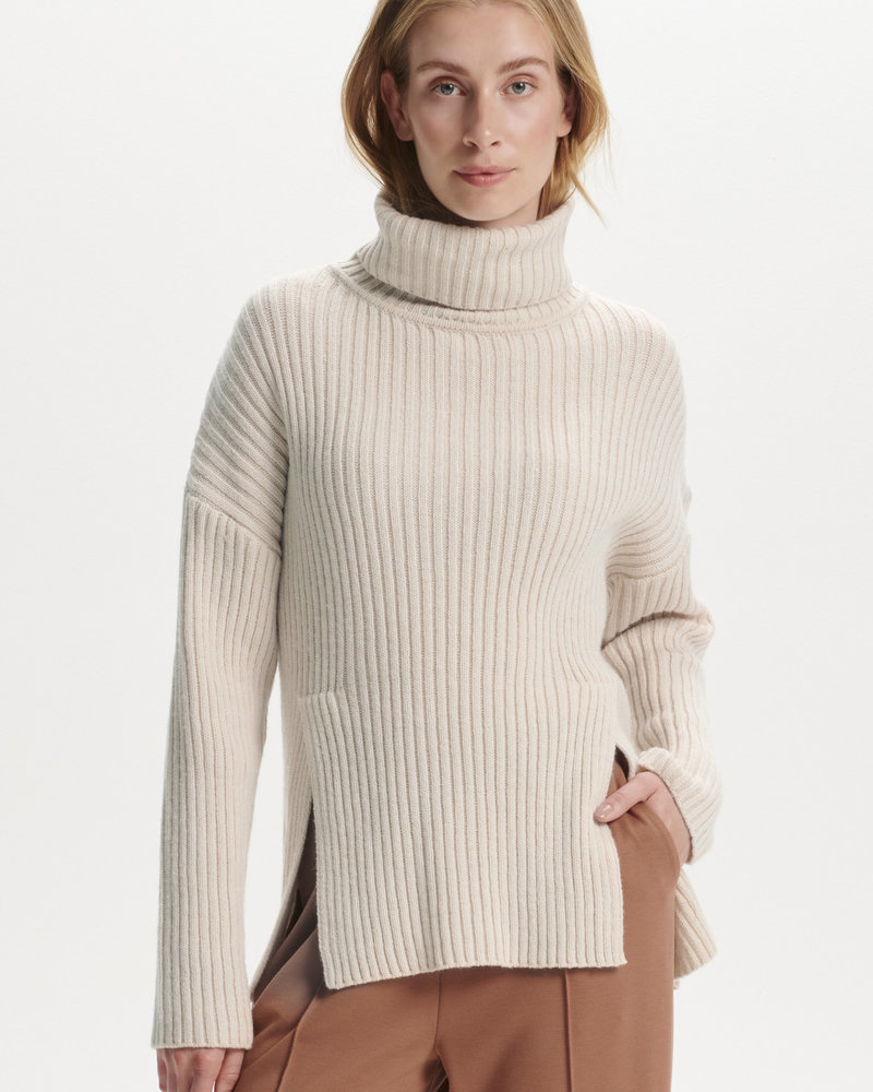 Soaked In Luxury Millicent High Neck Pullover
