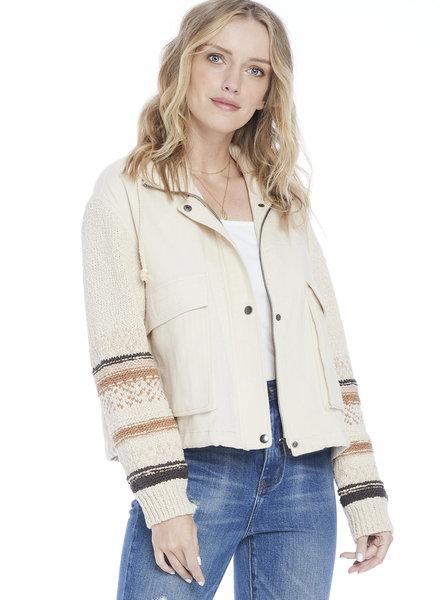 Saltwater Luxe Saltwater Luxe Knit Sleeve Jacket