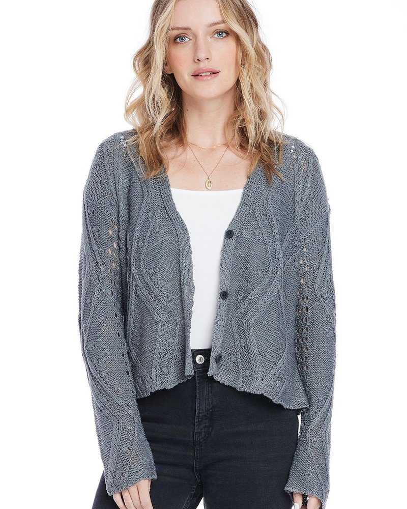 Saltwater Luxe Saltwater Luxe Fine Knit Cardi