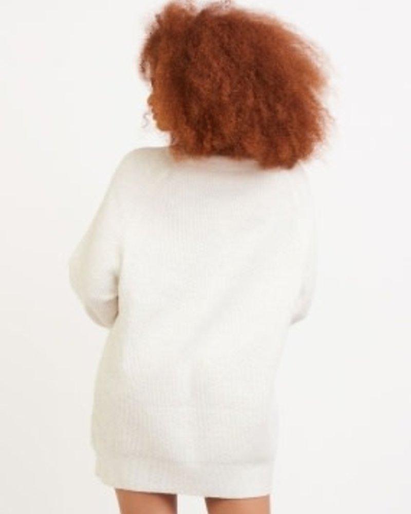 Dex Dex Mock Neck Sweater Dress