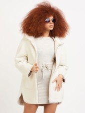 Dex Dex Hooded Fleece Coat