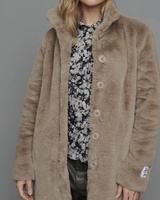 Rino+Pelle Rino+Pelle Nonna Faux Fur Coat