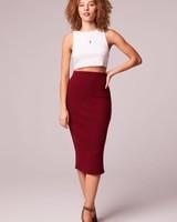 BOG B.O.G. Ribbed Pencil Skirt