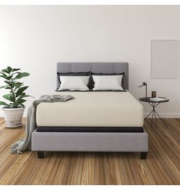 Signature Design by Ashley Ashley Chime 12 Inch Medium Firm Memory Foam Mattress - CertiPUR-US Certfied, Queen