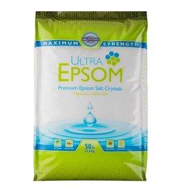 SaltWorks SaltWorks Ultra Epsom Bath Salt, USP Grade, Fine Grain, 50 lb Bag