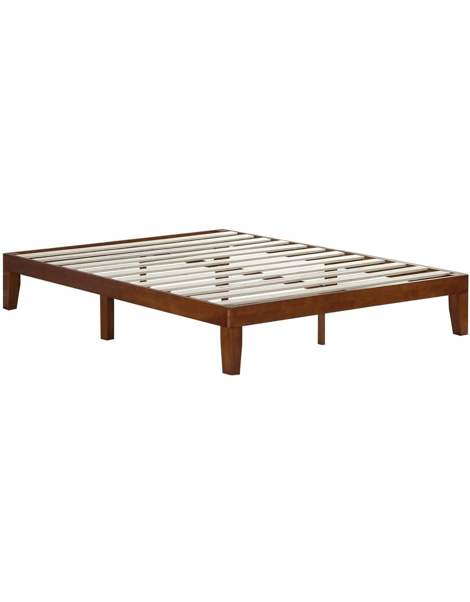Zinus Wen 12 Inch Wood Platform Bed Frame Solid Wood Mattress Foundation With Wood Slat Support No Box Spring Needed Easy Assembly Queen Abusa Buffalo