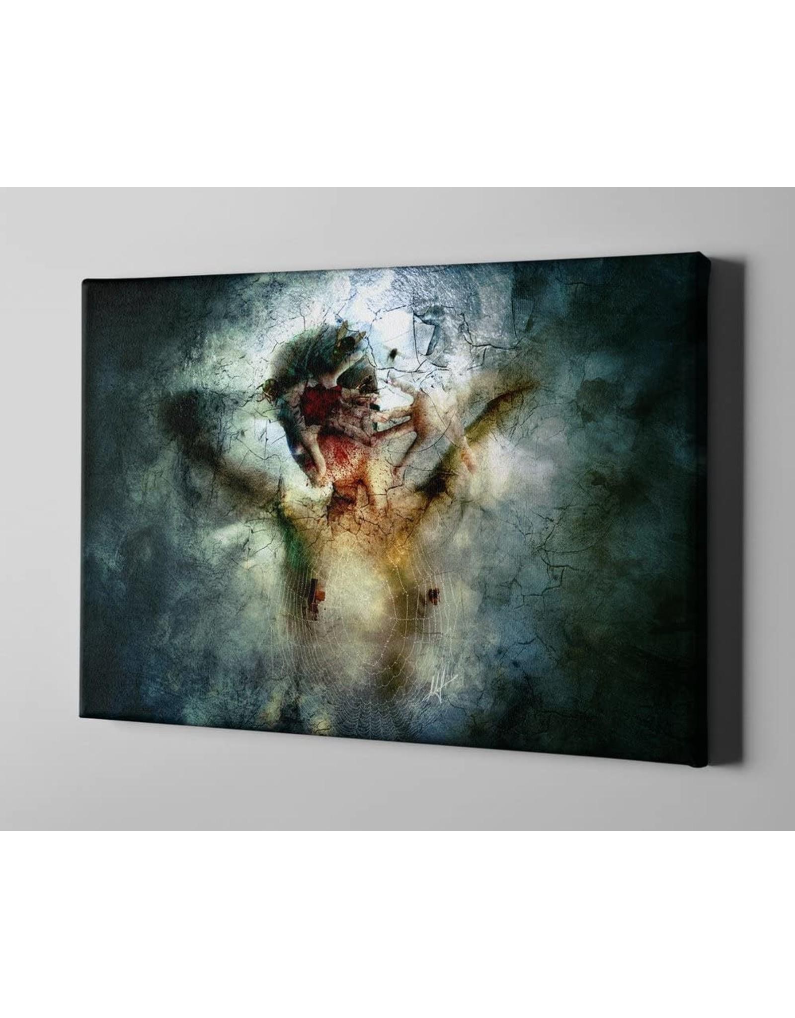 "Cortesi Home Cortesi Home I Break by Mario Sanchez Nevado Giclee Canvas Wall Art, 40"" x 60"", Green"