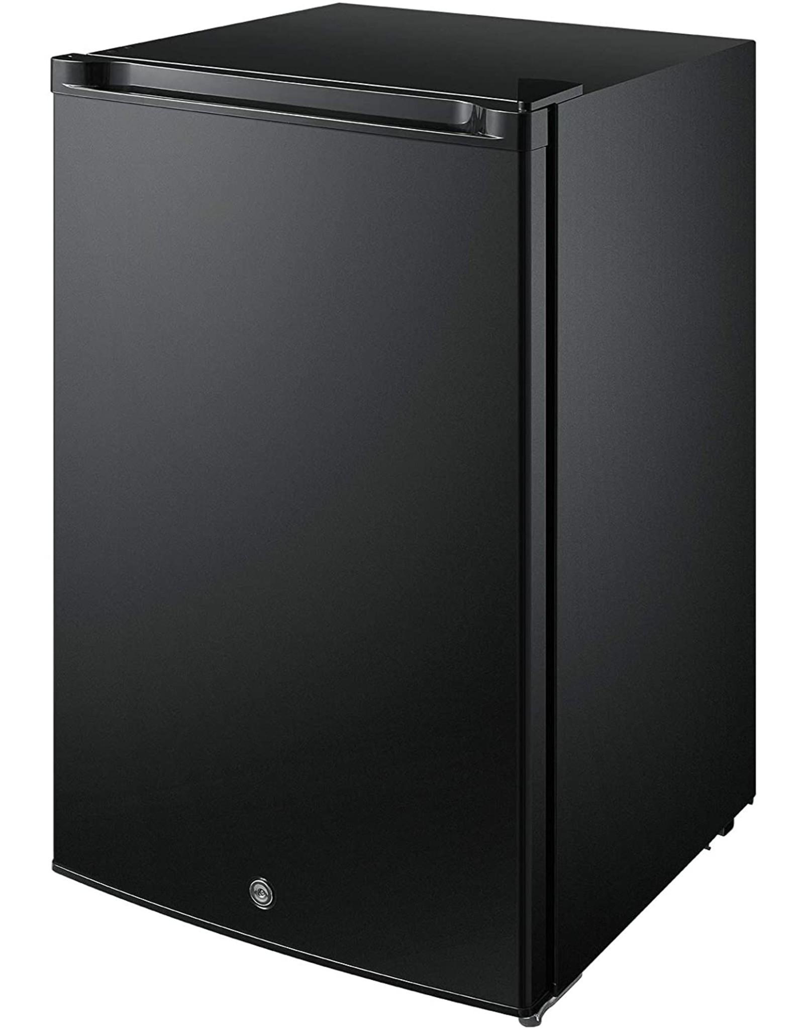 Midea Midea MRU03M2ABB Upright Freezer 3.0 Cubic Feet with Door Lock, Black