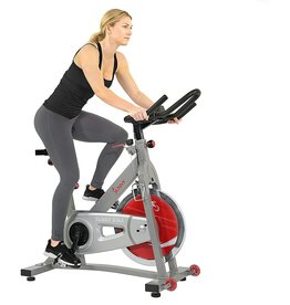 Sunny Health Sunny Health & Fitness Indoor Cycling Bike with 40 LB Flywheel and Dual Felt Resistance - Pro/Pro II