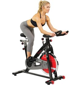 Sunny Health Sunny Health & Fitness Spin Bike Belt Drive Indoor Cycle Exercise Bike - SF-B1002