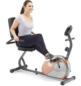 Marcy Marcy Recumbent Exercise Bike with Resistance ME-709