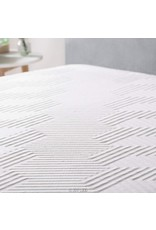 LUCID LUCID 12 Inch King Latex Hybrid Mattress - Memory Foam - Responsive Latex Layer - Premium Steel Coils - Medium Firm Feel - Temperature Neutral