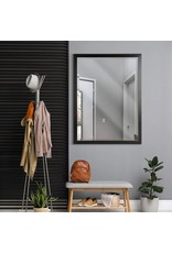 Head West Head West 30 x 40 Classic Oil Rubbed Bronze 1.5 in. Wide Metal Frame Wall Mirror