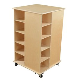 Wood Designs Wood Designs Cubby Spinner Without Trays