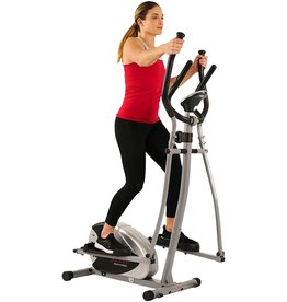 Sunny Health Sunny Health & Fitness SF-E905 Elliptical Machine Cross Trainer with 8 Level Resistance and Digital Monitor