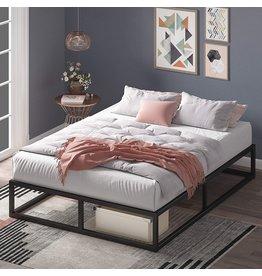 Zinus Zinus Joseph 10 Inch Metal Platforma Bed Frame / Mattress Foundation / Wood Slat Support / No Box Spring Needed / Sturdy Steel Structure, Queen