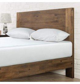 Zinus Zinus Tonja Platform Bed / Mattress Foundation / No Box Spring Required / Brown, King