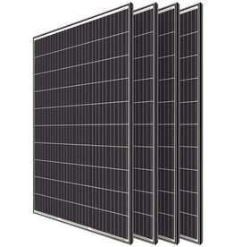 Renogy Renogy 4pcs 320 Watt Monocrystalline Solar Panel System Kit Off Grid for Shed Farm, Home, Residential, Commercial House, 320W, 4 Pieces