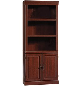 Sauder Sauder Heritage Hill Library With Doors - Classic Cherry finish